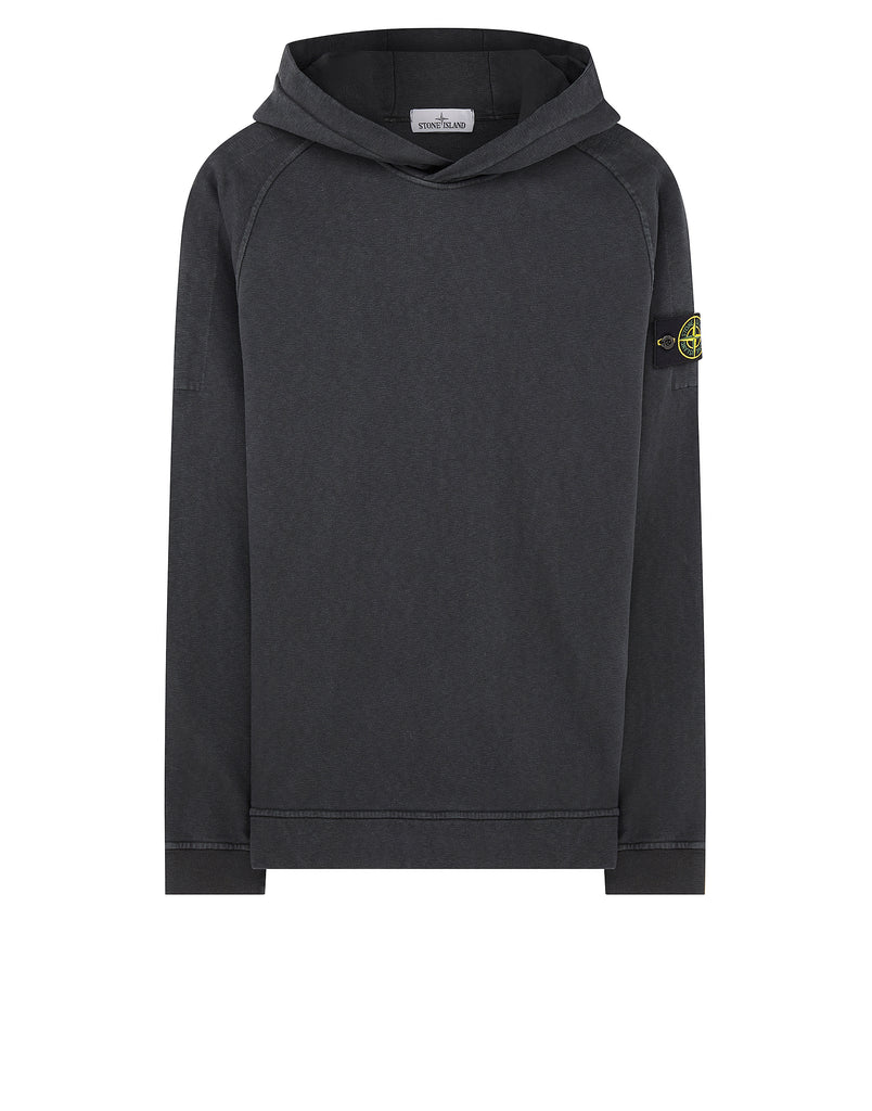 61961 T.CO+OLD Hooded Sweatshirt in Charcoal