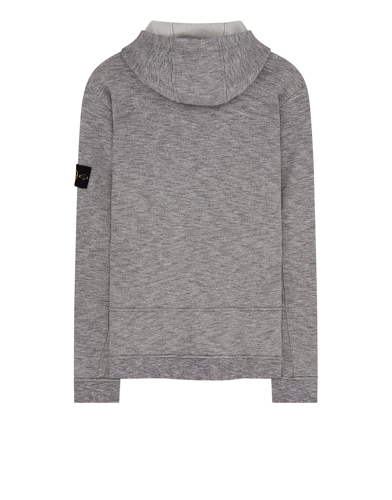 63337 Hooded Sweatshirt in Pearl Grey