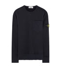 63820 Pocket Sweatshirt in Navy Blue