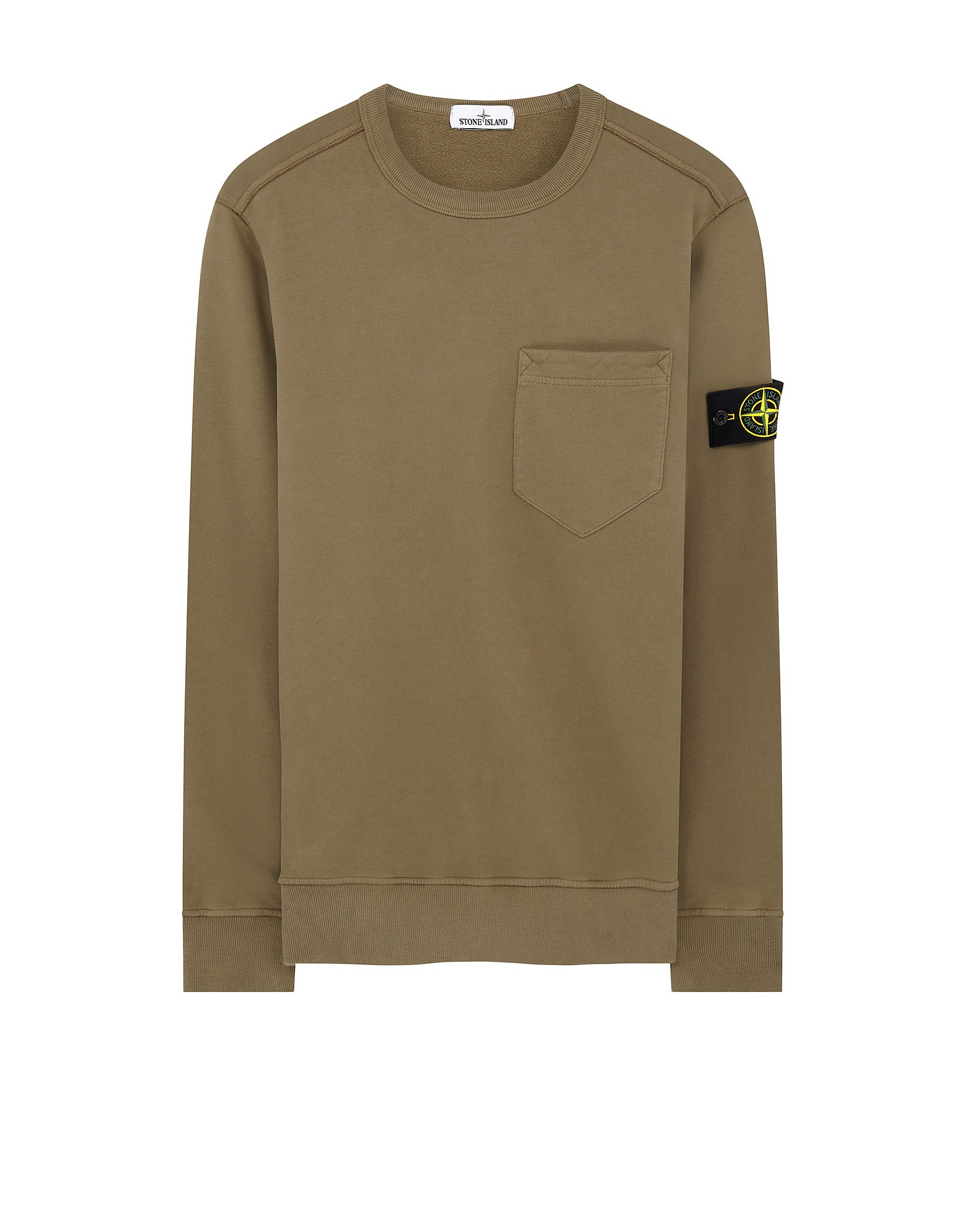 63820 Pocket Sweatshirt in Olive