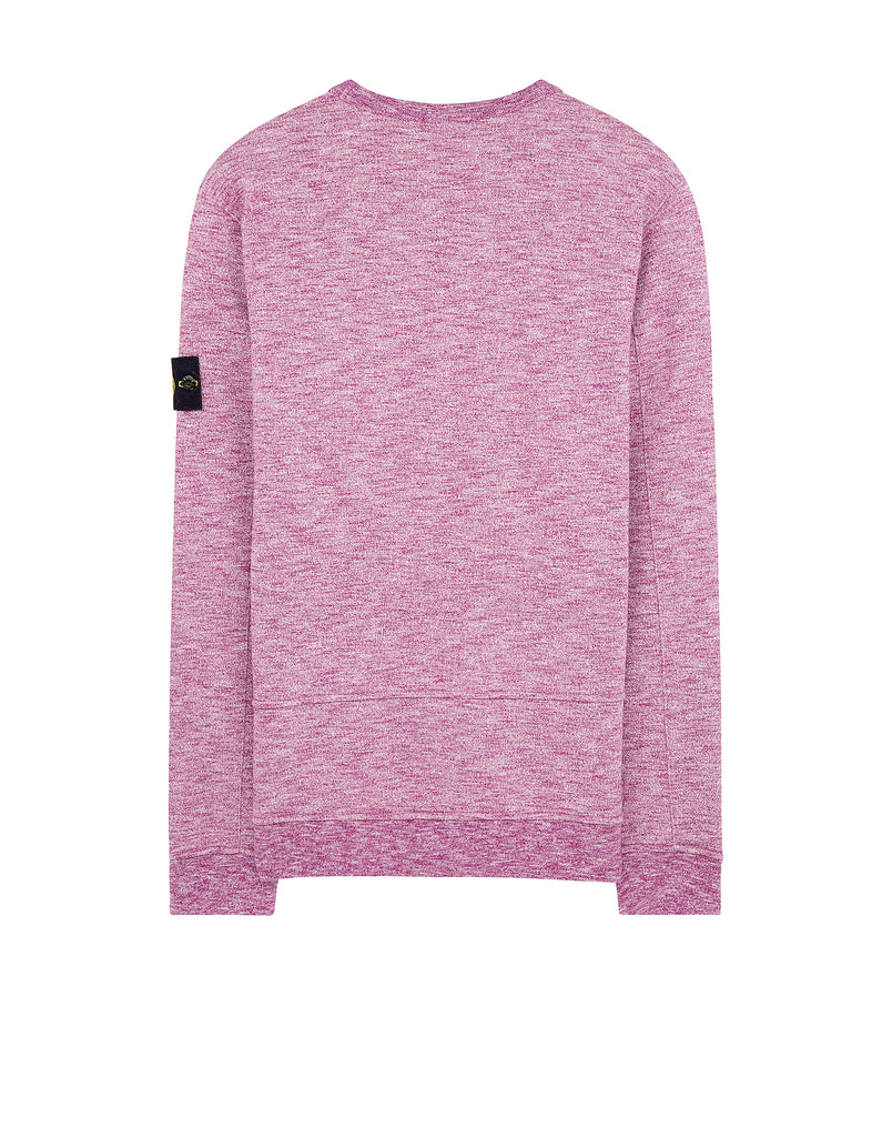 65437 Crewneck Pocket Sweatshirt in Purple