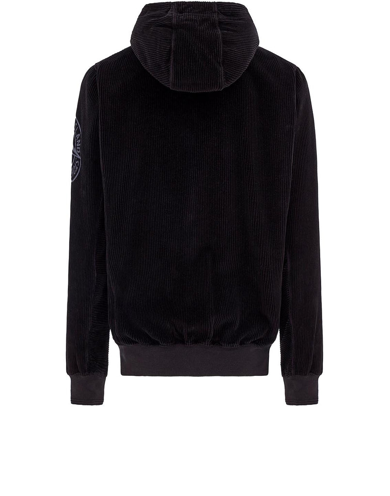 65939 CORDUROY Sweatshirt in Black