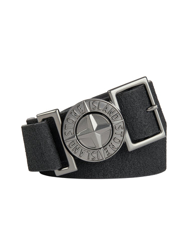 90162 Leather Belt in Black