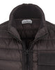 G0424 GARMENT DYED MICRO YARN DOWN_PACKABLE Jacket in Charcoal
