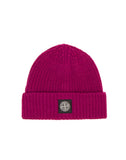 N10B5 Ribbed Wool Hat in Purple