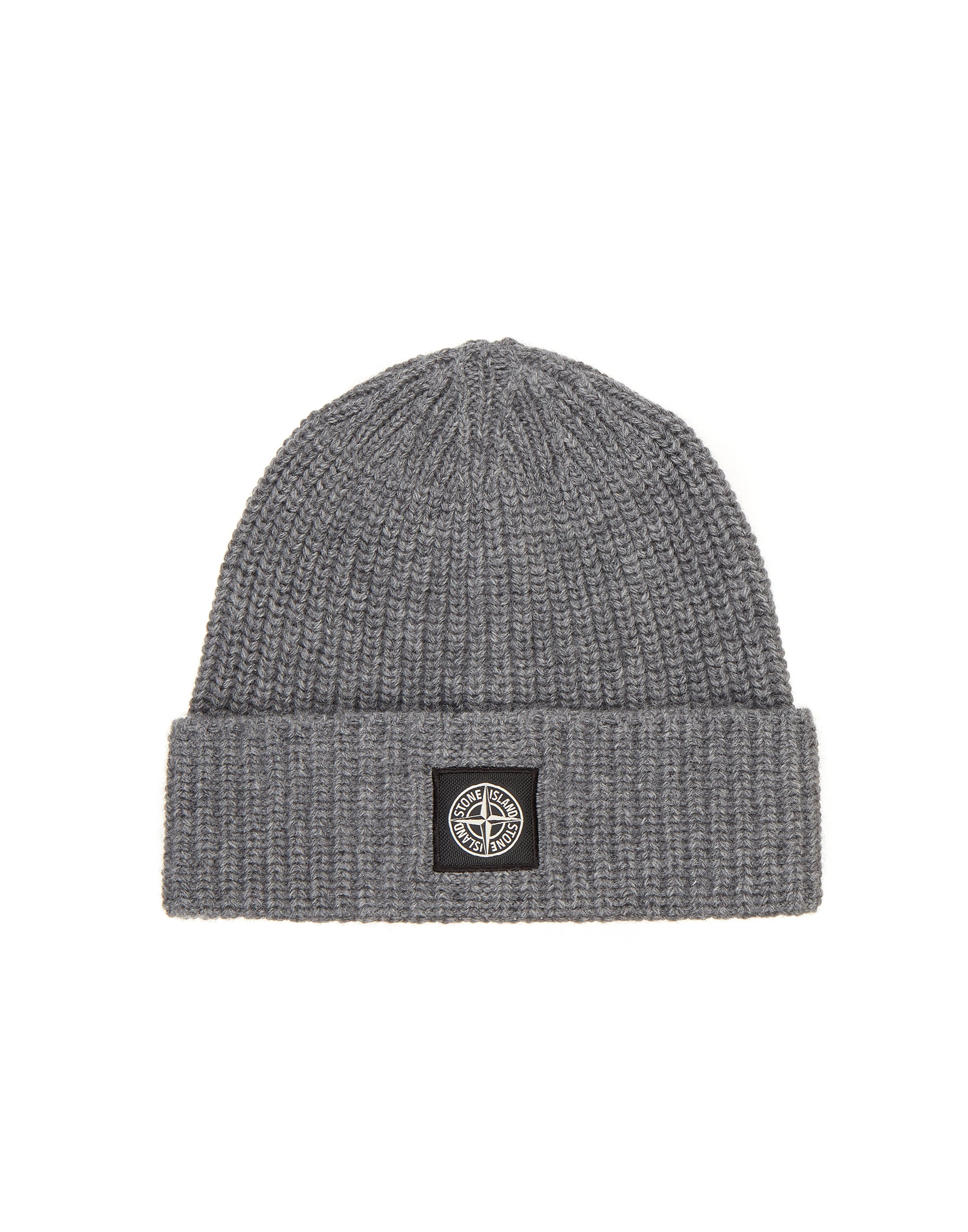 N10B5 Ribbed Wool Hat in Grey