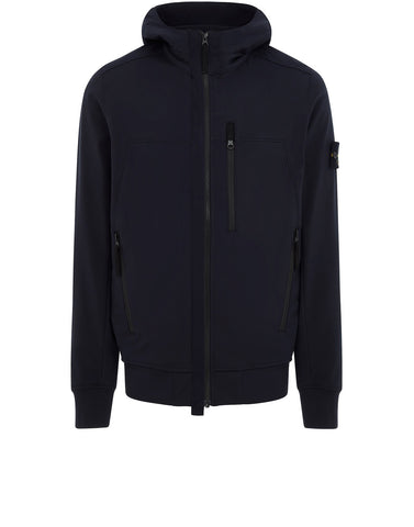 Q0522 SOFT SHELL-R Jacket in Navy Blue