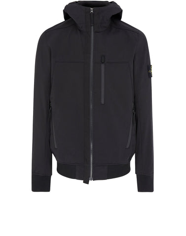 Q0522 SOFT SHELL-R Jacket in Black