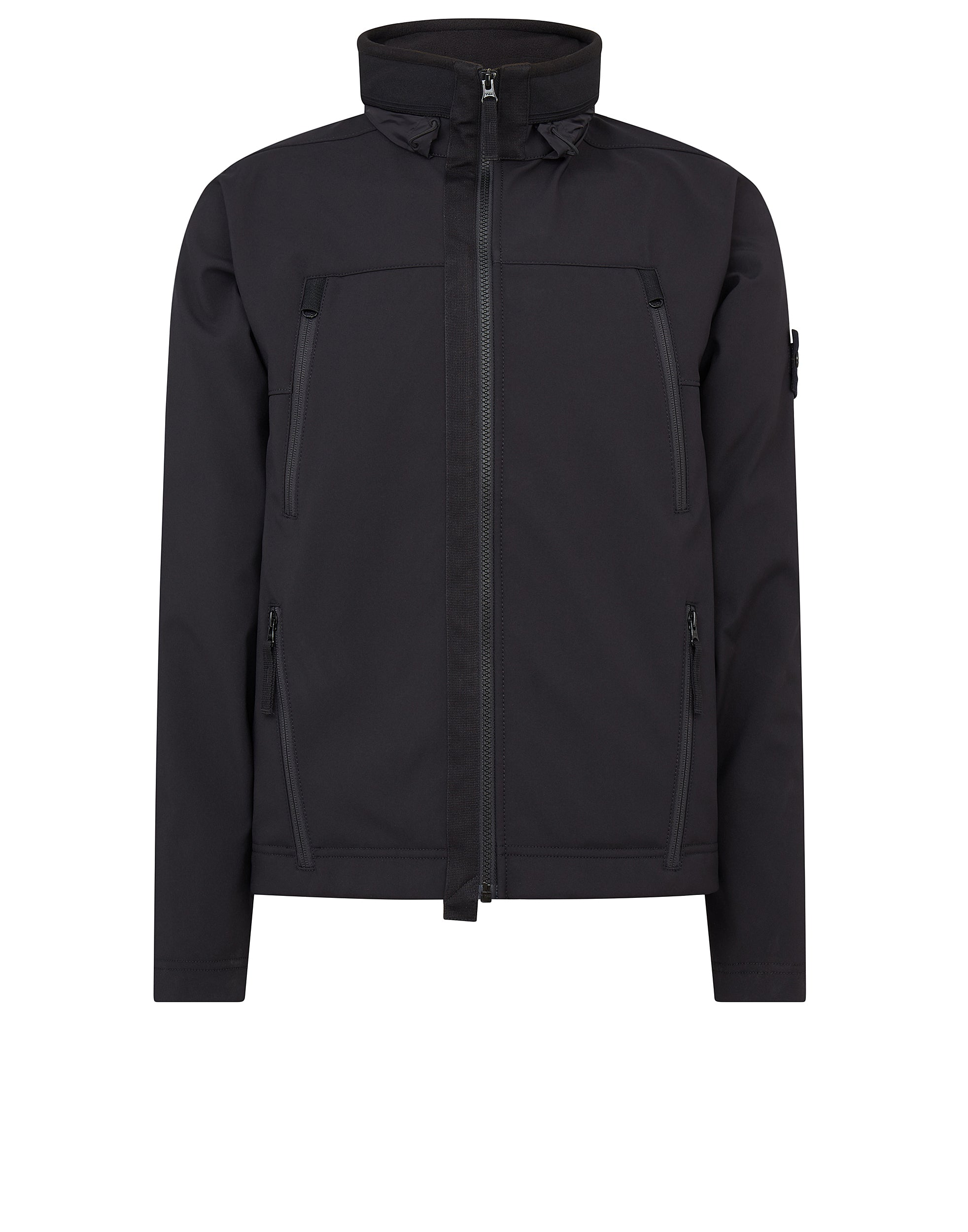Q0722 SOFT SHELL-R Jacket in Black