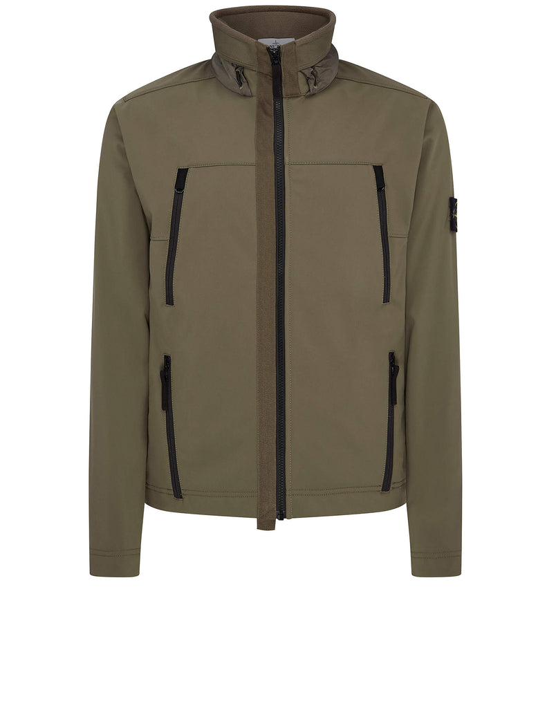 Q0722 Soft Shell-R Jacket in Olive