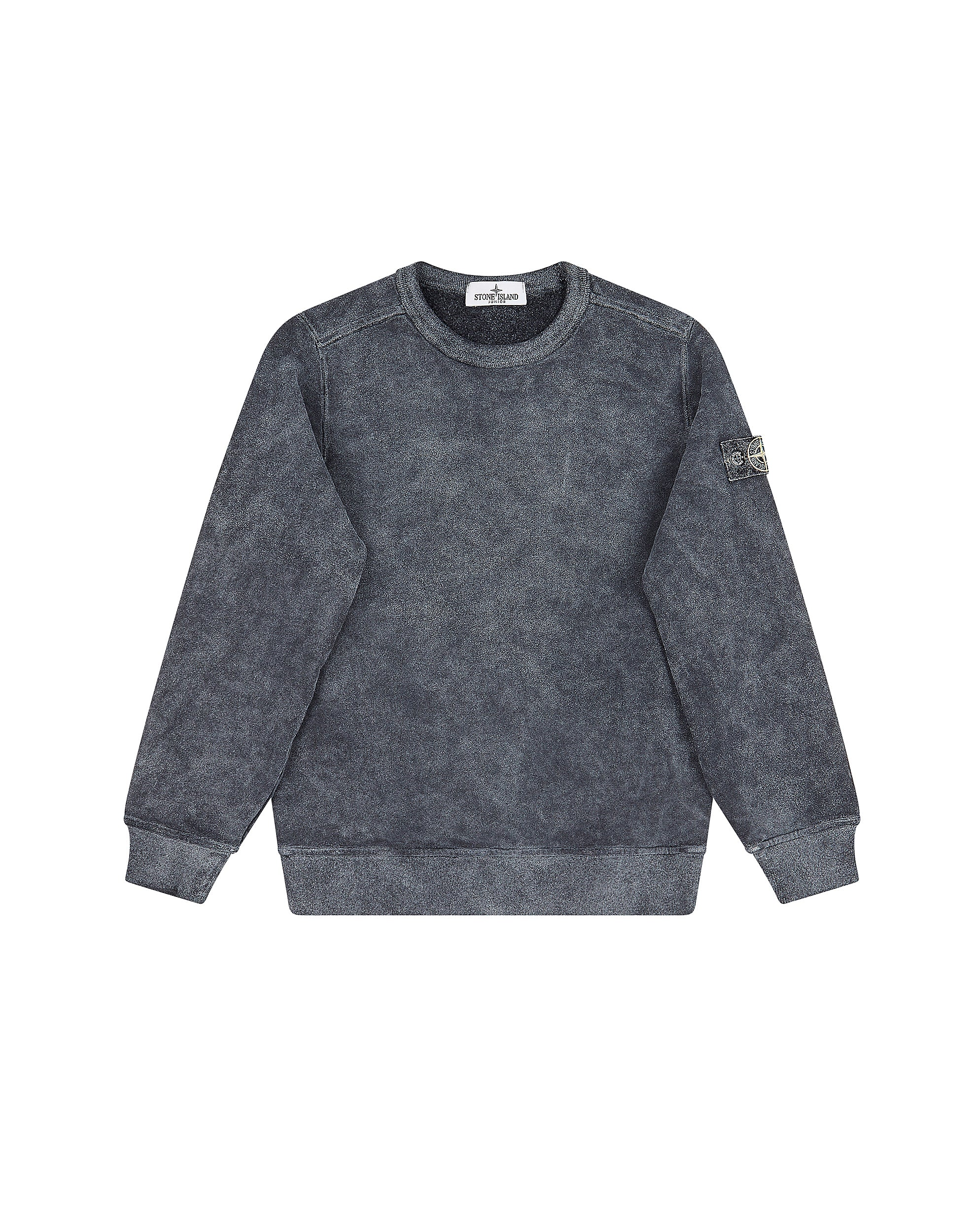 60939 DUST COLOUR FROST FINISH Sweatshirt in Black