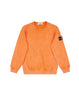 60939 DUST COLOUR FROST FINISH Sweatshirt in Orange