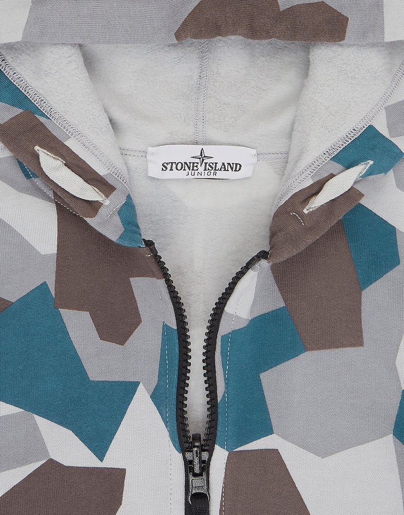 62006 REVERSIBLE Zip Hoodie in Ice