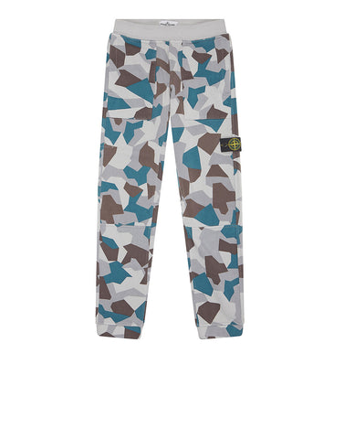 62206 REVERSIBLE Trousers in Ice
