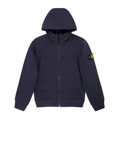 Q0130 SOFT SHELL-R Jacket in Navy Blue