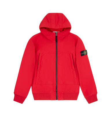 Q0130 SOFT SHELL-R Jacket in Red