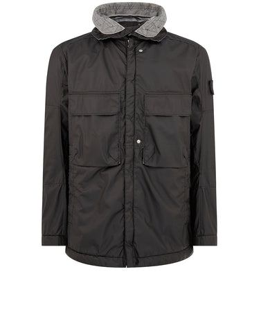 41004 FIELD JACKET 2L WINDPROOF WATER-RESISTANT FABRIC - GARMENT DYED WITH ANTI-DROP AGENT IN BLACK