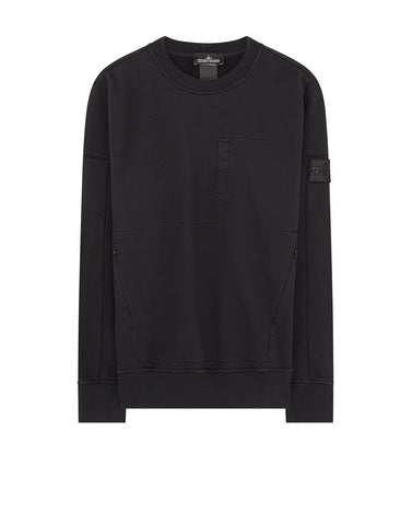 60107 Sweatshirt in Black