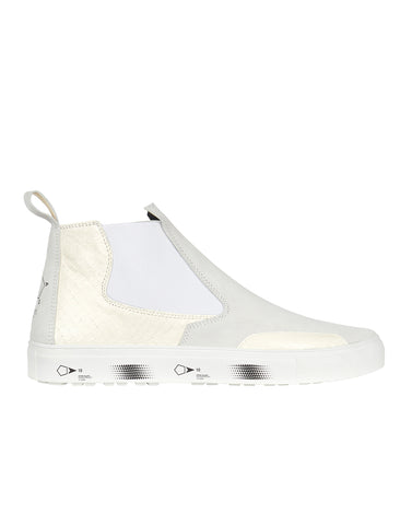 S0522 SLIP-ON MID SHOE in White
