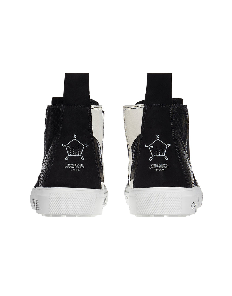 S0522 SLIP-ON MID SHOE in Black
