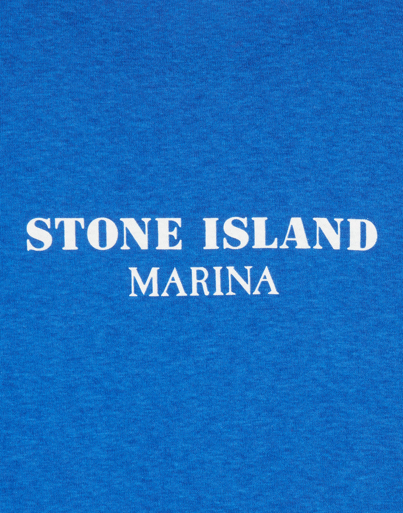 244X2 STONE ISLAND MARINA T-Shirt in Periwinkle