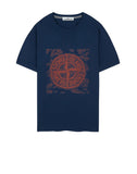 2NS84 GRAPHIC TWO T-Shirt in Blue Marine
