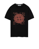 2NS84 GRAPHIC TWO T-Shirt in Black