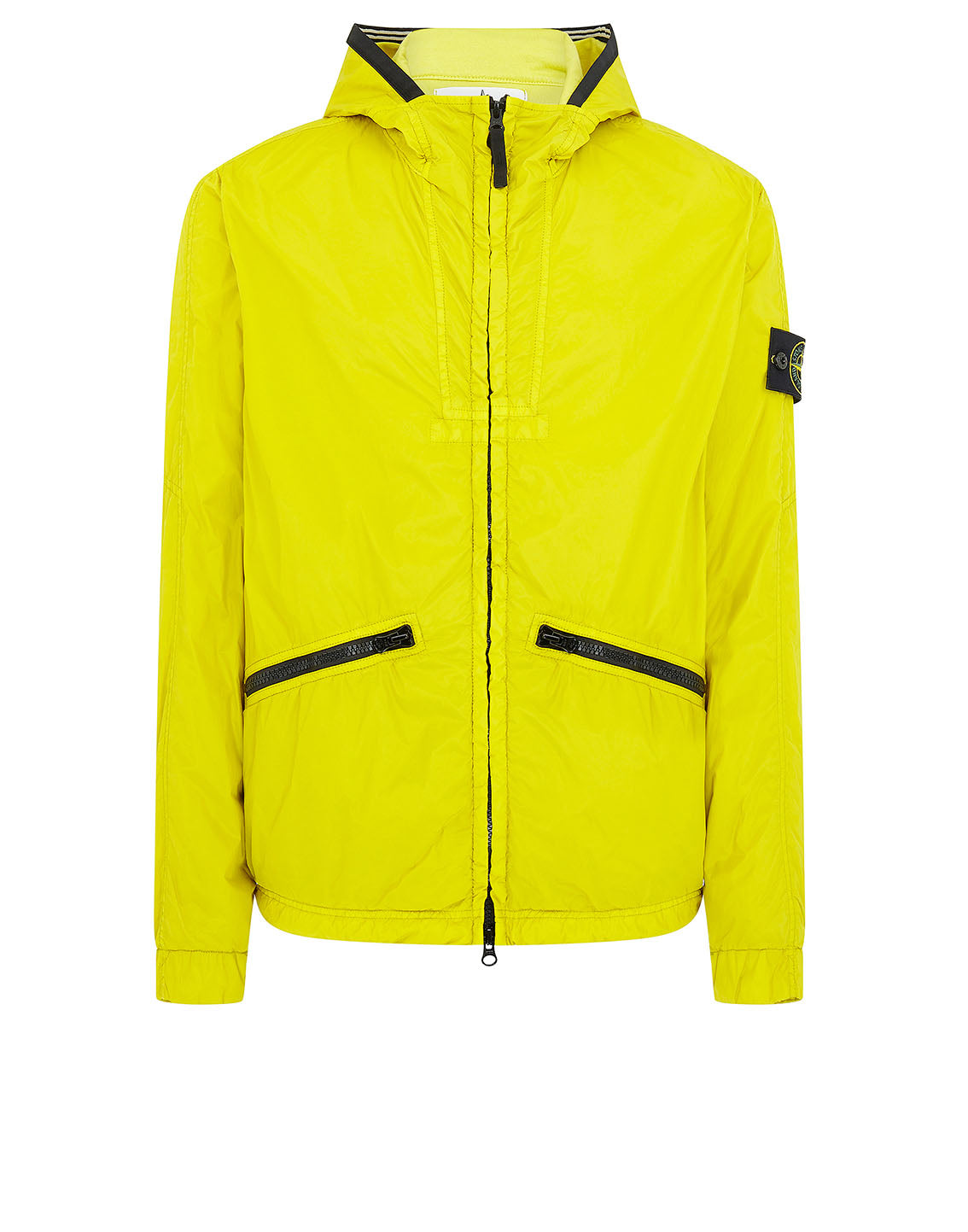 41030 GARMENT DYED CRINKLE REPS NY Jacket in Yellow