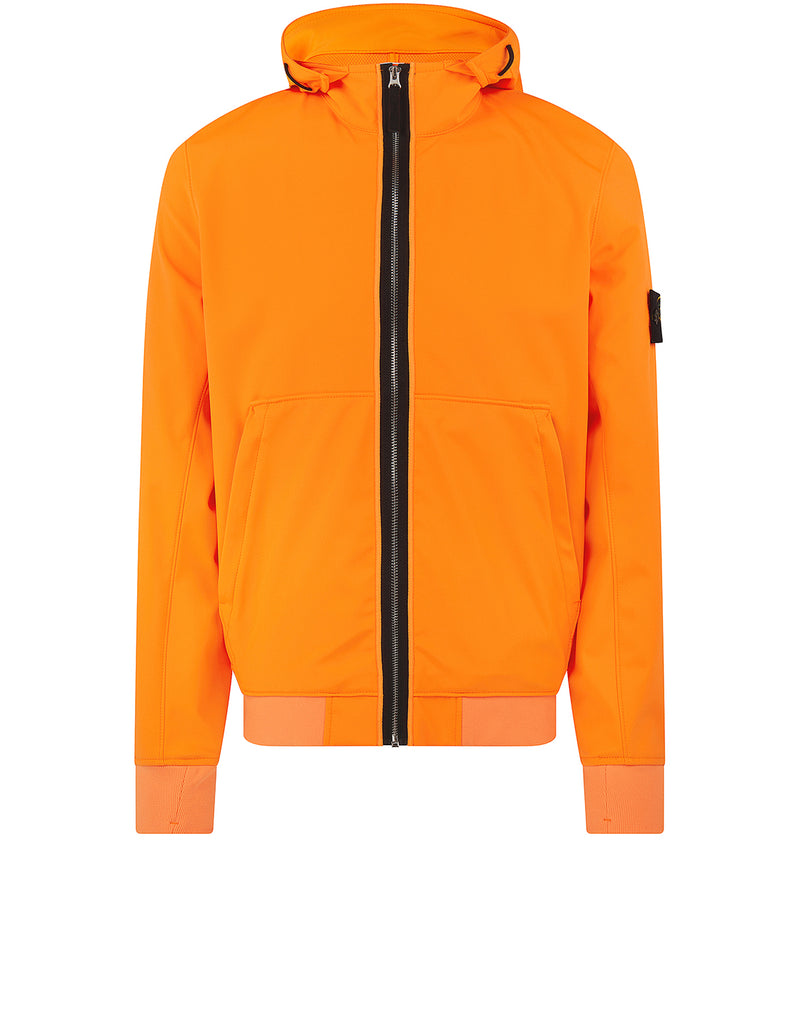 43427 LIGHT SOFT SHELL-R Jacket in Orange