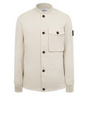 44649 DAVID-TC Bomber Jacket in Plaster