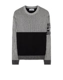 508D1 Two Tone Knit in Black