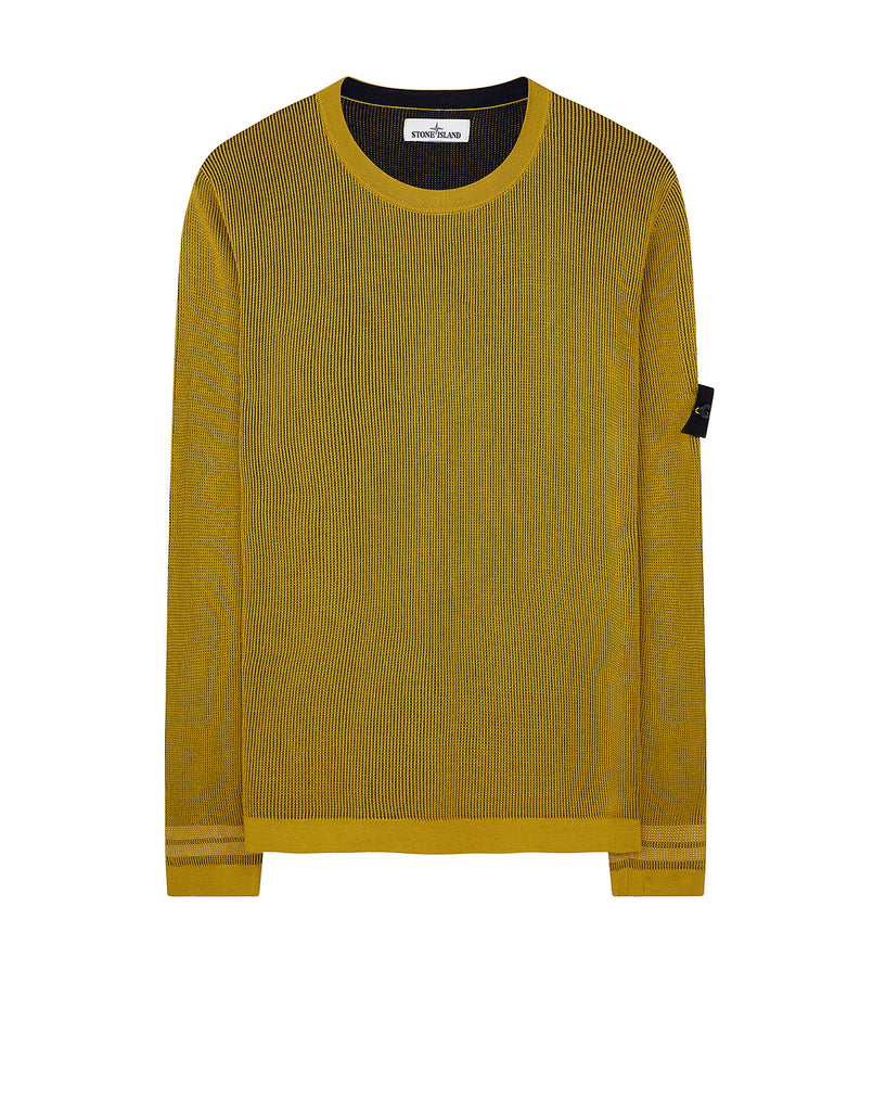554A7 Two Tone Knit in Yellow