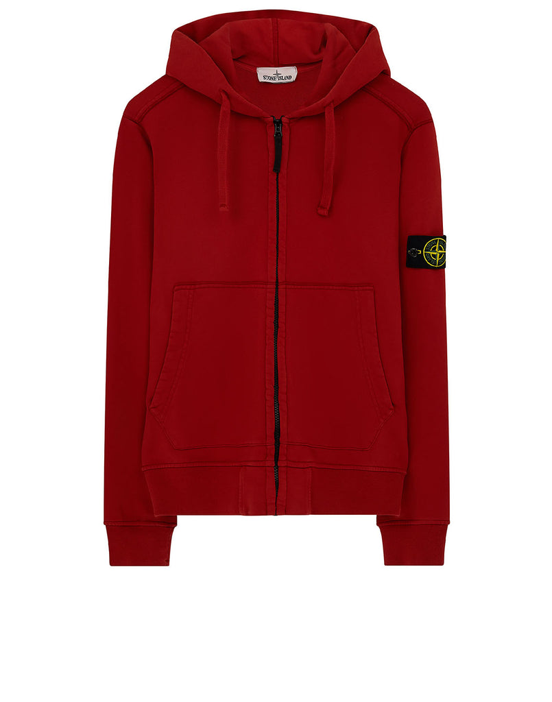 60251 Hooded Sweatshirt in Red