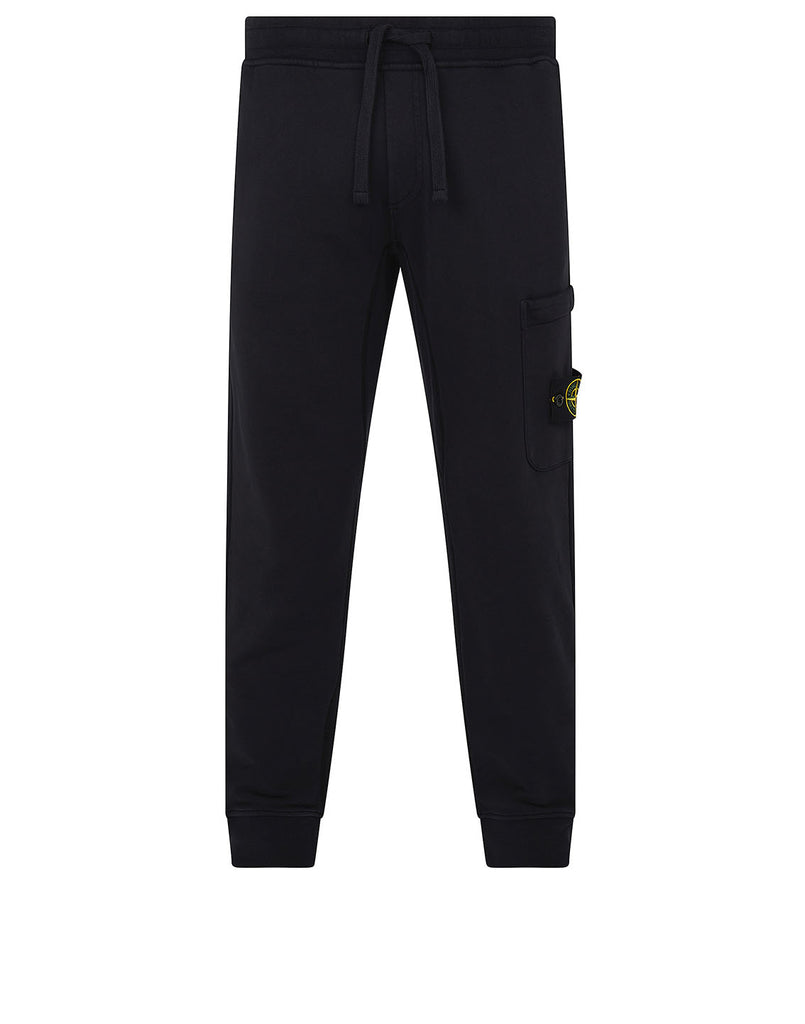 60351 Fleece Trousers in Navy Blue