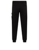 60351 Fleece Trousers in Black