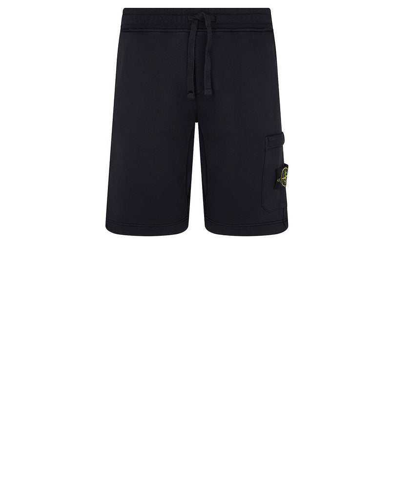 64651 Fleece Shorts in Navy Blue