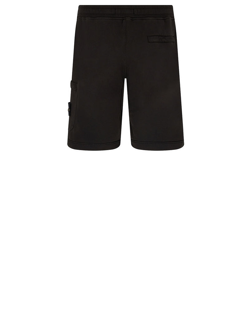 64651 Fleece Shorts in Black