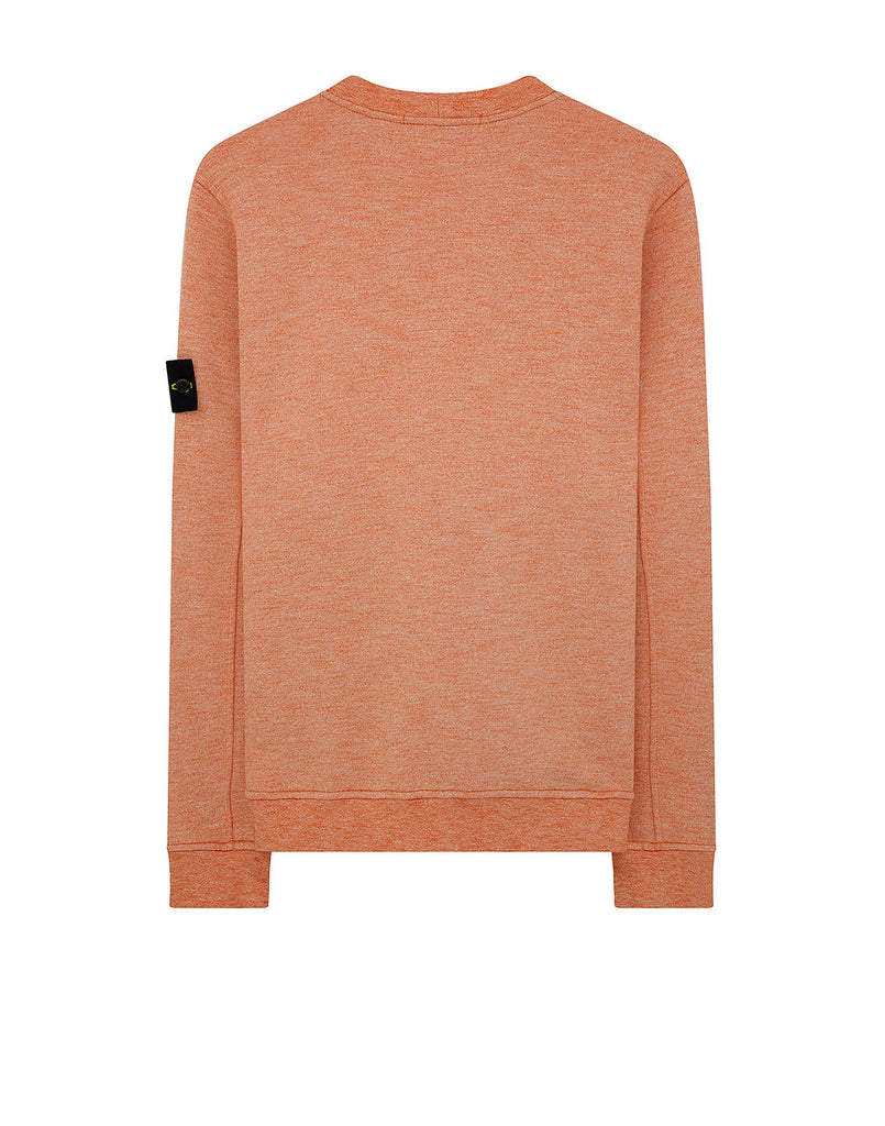 65338 Mouline Sweatshirt in Orange