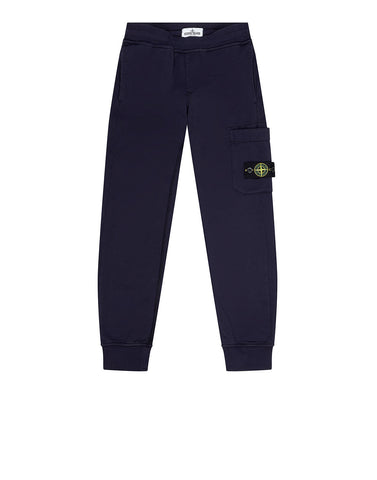60640 Fleece Jogging Trousers in Ink