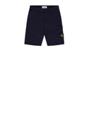 60740 Fleece Bermuda Shorts in Ink