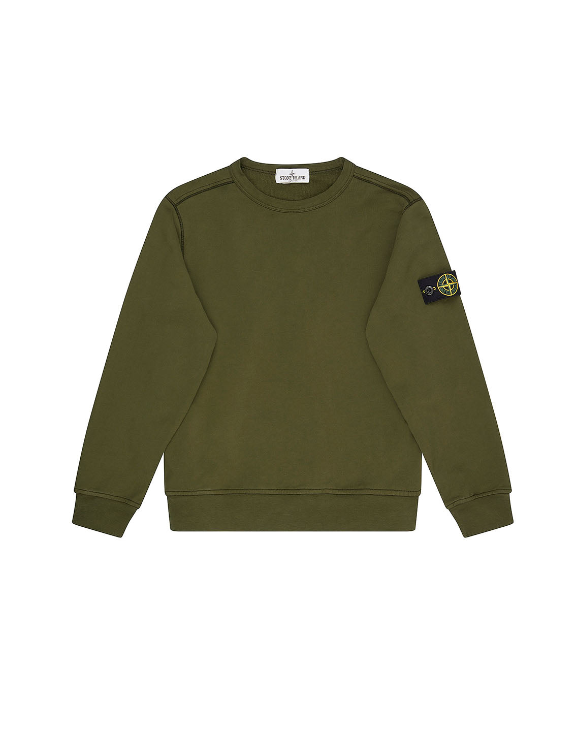 61040 Crewneck Sweatshirt in Military Green