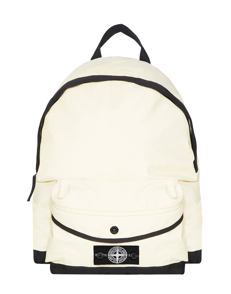 90564 GARMENT DYED PLATED REFLECTIVE RUCKSACK in Yellow