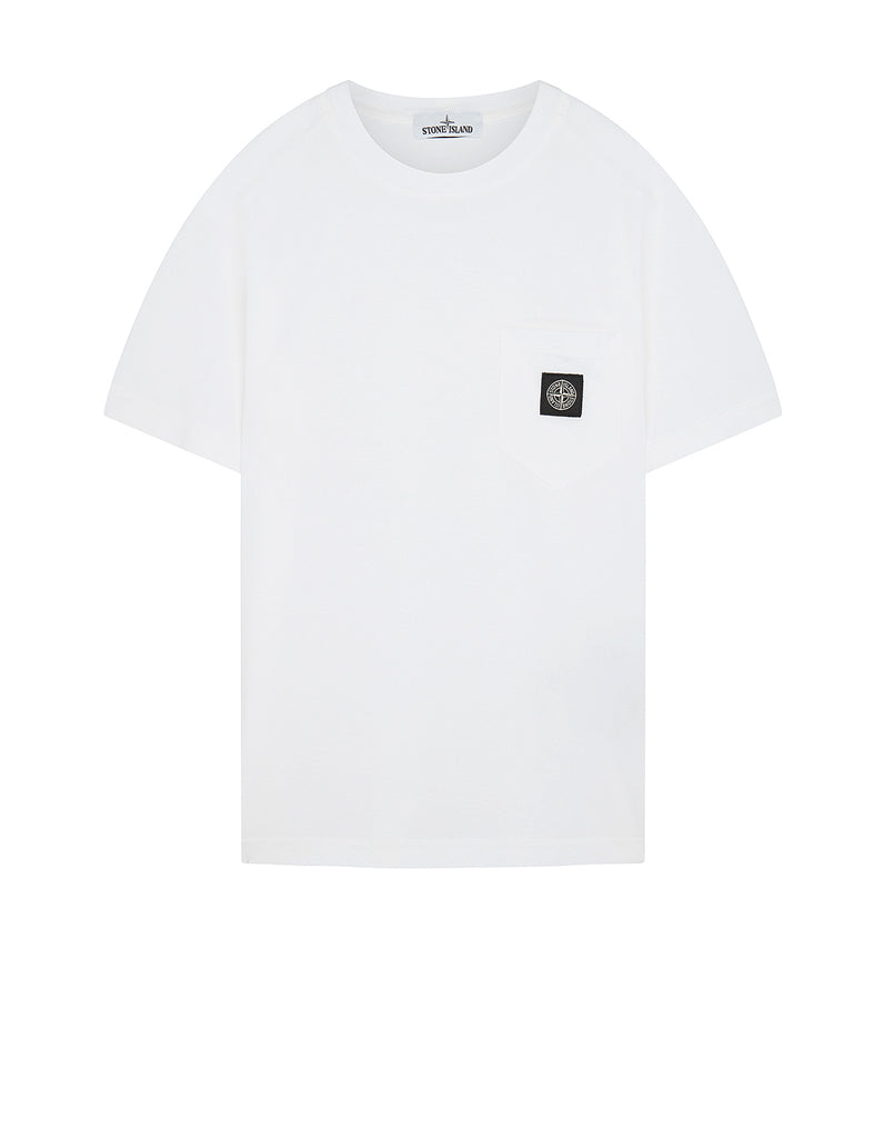 20113 Pocket Patch T-Shirt in White