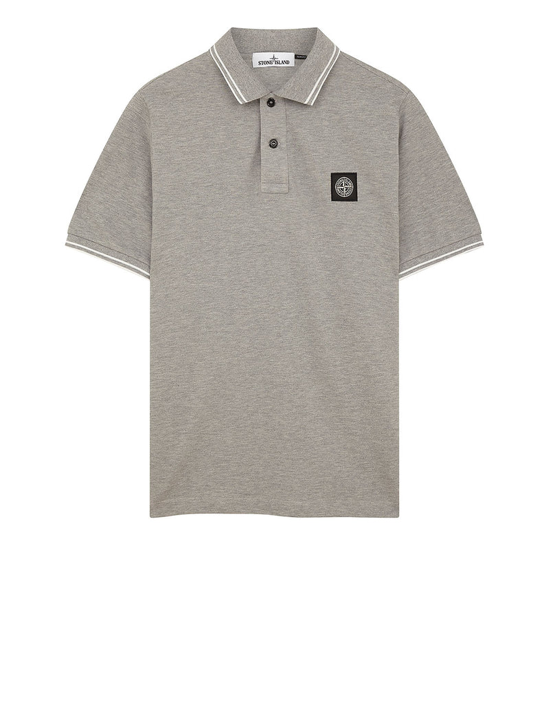 22S18 Polo Shirt in Dust Grey