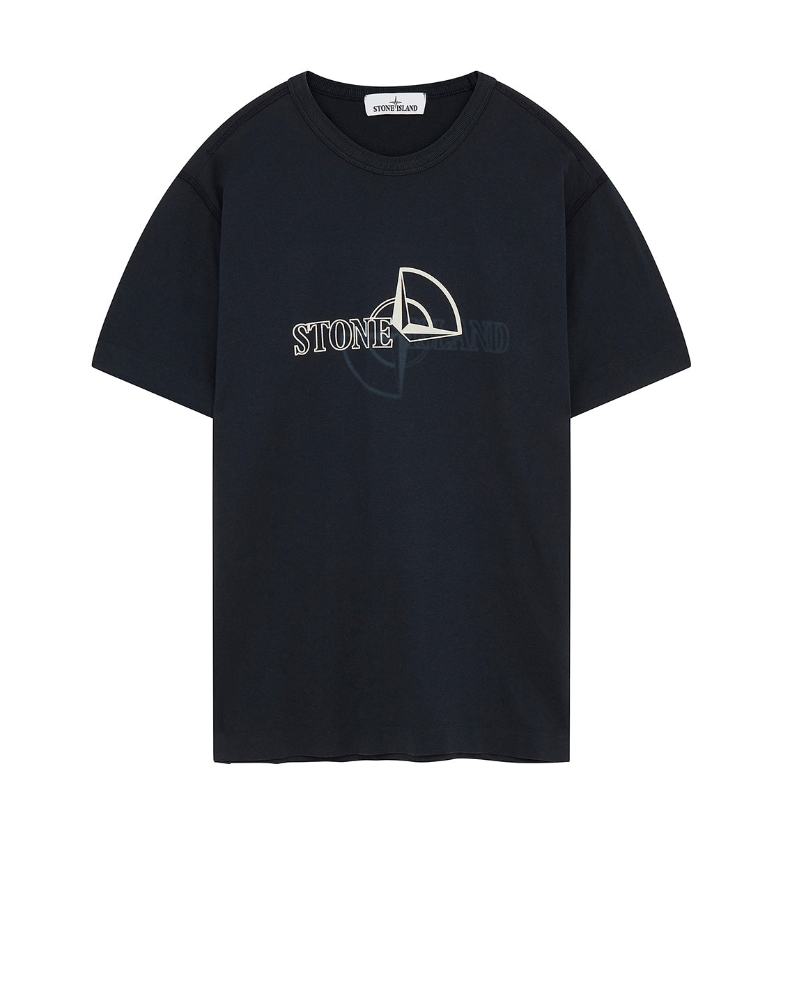 23381 'GRAPHIC TWO' PRINT T-Shirt in Navy Blue