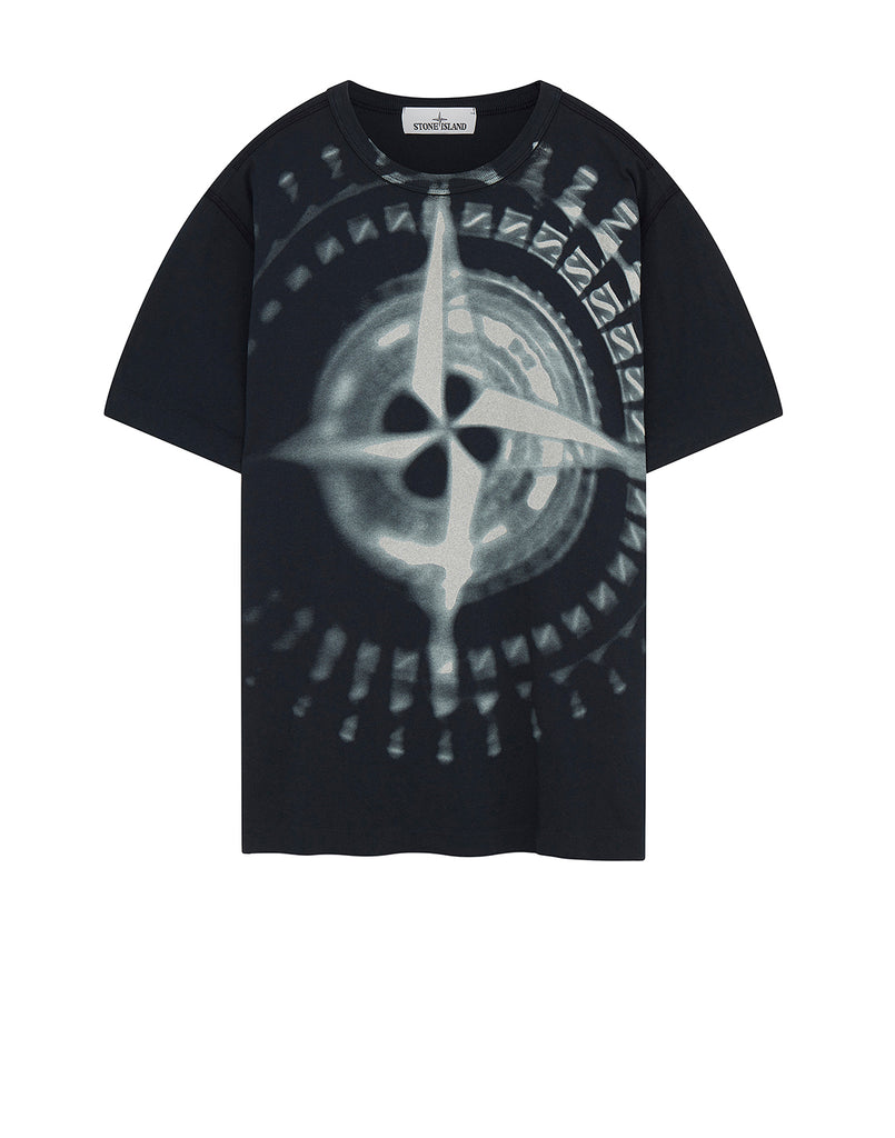 23383 GRAPHIC FOUR' T-Shirt in Navy Blue