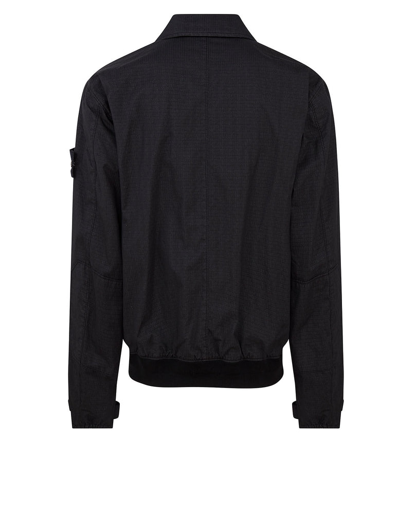 43699 REFLECTIVE WEAVE RIPSTOP-TC Jacket in Black
