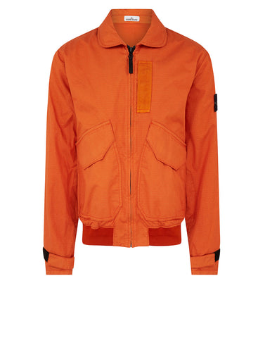 43699 REFLECTIVE WEAVE RIPSTOP-TC Jacket in Orange