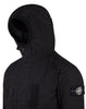 43999 REFLECTIVE WEAVE RIPSTOP-TC WITH PANNO JACQUARD_DETACHABLE LINING Jacket in Black