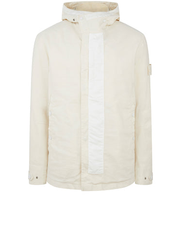 442F1 GHOST PIECE  MIL SPEC DIAGONAL WOOL Jacket in Natural